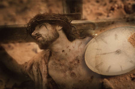 Time and the crucifixion Stock Photo - 7191899