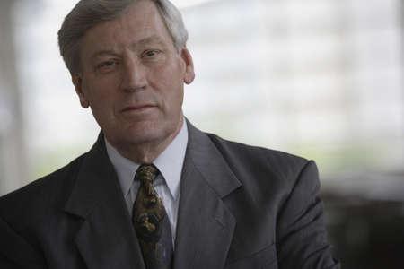 suave: Suave senior businessman