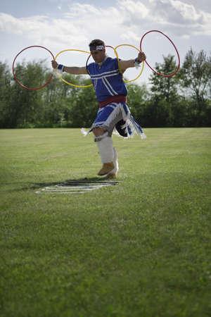 Male Native dancer