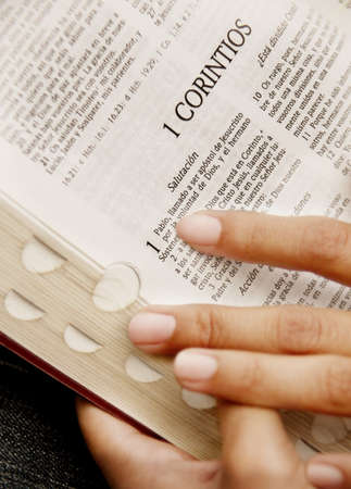 a righteous person: Reading a Bible
