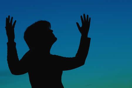 Woman in worship Stock Photo - 7189801