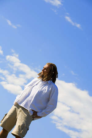 curtis: Man standing outdoors