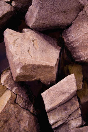 Close-up of rocks