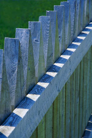 fence: Picket fence