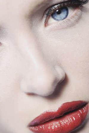 Close-up beauty photo