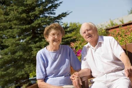 Portrait of a senior couple Stock Photo - 7190125