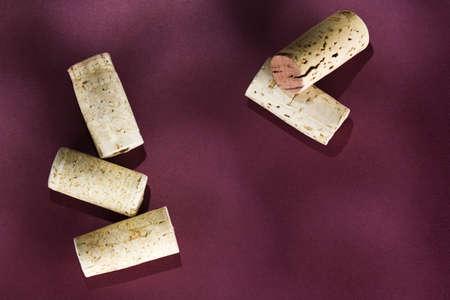 raniszewski: Group of corks Stock Photo
