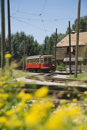 Old-fashioned streetcar Stock Photo - 7190859