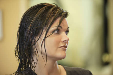 Mujer en el Sal�n de belleza  Foto de archivo - 7190869