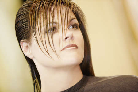 hairstylists: Woman at the beauty salon
