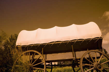 Conestoga wagon Stock Photo - 7190852
