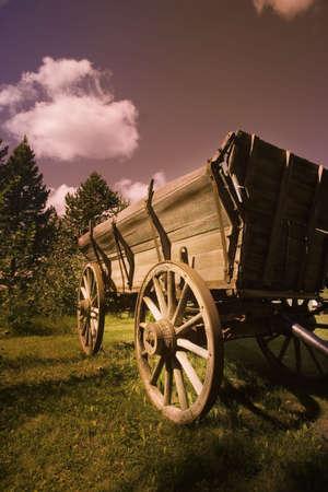 pioneers: Conestoga wagon