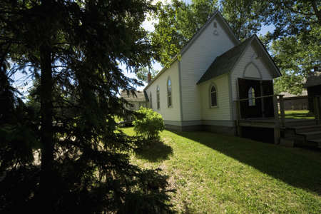 belief systems: Old-fashioned chapel