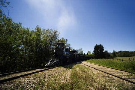Steam engine train photo