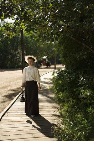 vestidos de epoca: Mujer en traje de per�odo