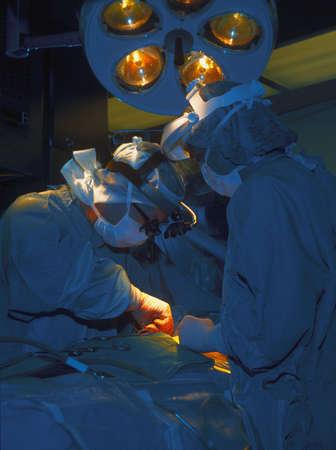 수술이 수행 중이다.