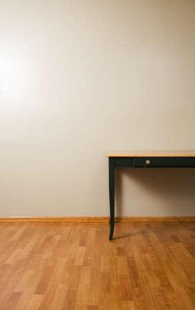wood flooring: Table on hardwood floor