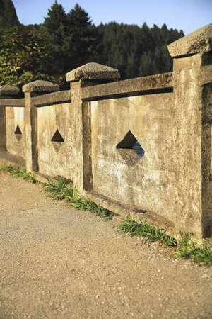 Cement fence Reklamní fotografie