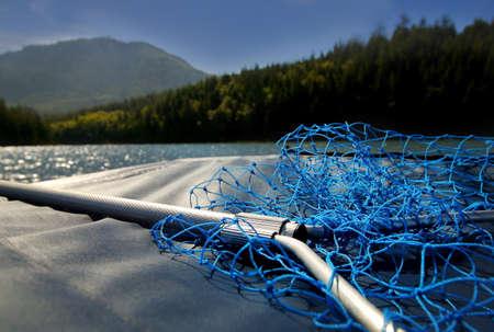Fishing net on boat Stock Photo - 7191610