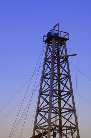 Oil tower photo