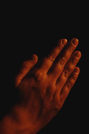 Prayerful hands Stock Photo - 7191851