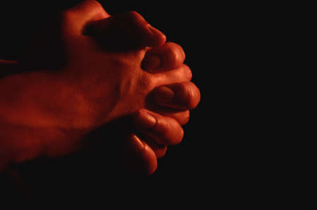 intercession: Prayerful hands