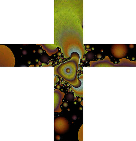 abstract cross: Abstract cross