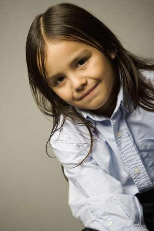 native american girl: Child portrait