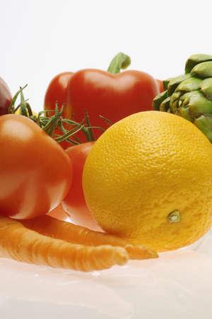 medley: Vegetable and fruit medley