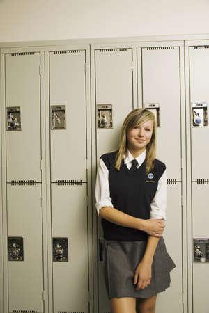 Estudiante de escuela privada  Foto de archivo - 7192647