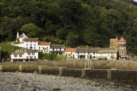 lynmouth: Lynmouth in England