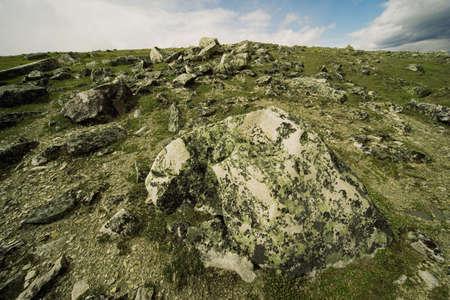 rugged terrain: Rugged terrain Stock Photo