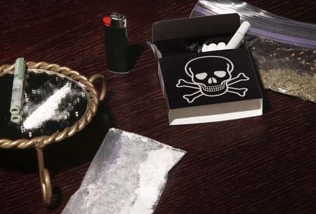 Illegal drugs photo