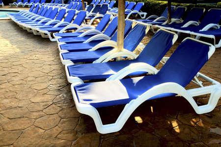 Pool-side chairs