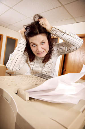 Frustrated woman Stock Photo - 7193692