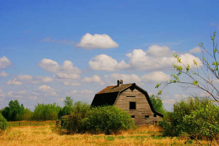 barns: Abandoned barn