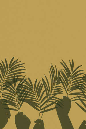 Palm Sunday Worship Hands