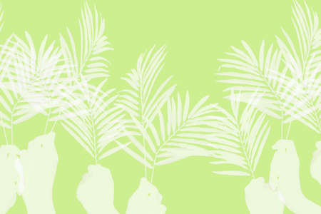 palm sunday: Palm Sunday background
