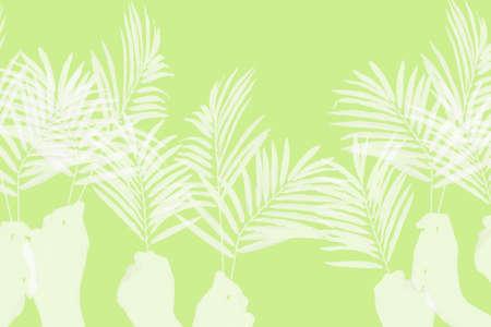 Palm Sunday background Stock fotó - 7195758