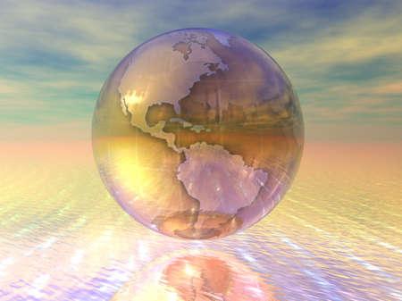 3D Globe Stock Photo - 7196029