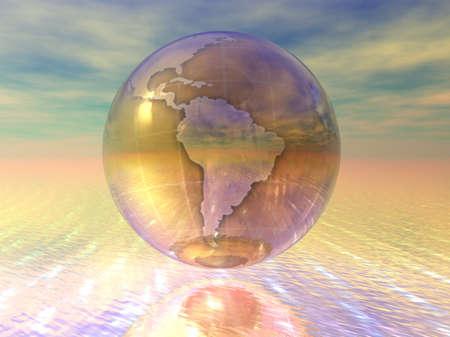 3D Globe Stock Photo - 7196028