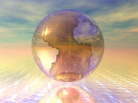 3D Globe Stock Photo - 7196023