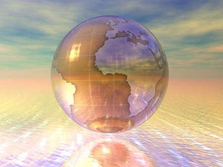 3D Globe Stock Photo - 7196025