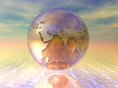 3D Globe Stock Photo - 7196024
