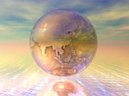 3D Globe Stock Photo - 7196030