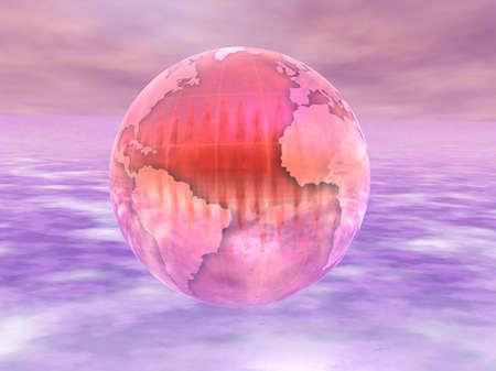 3D Globe Фото со стока