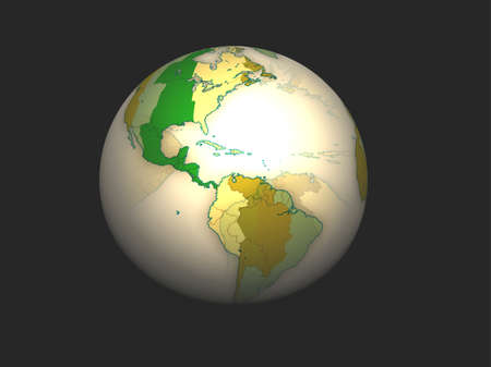 3D Globe Stock Photo - 7196090