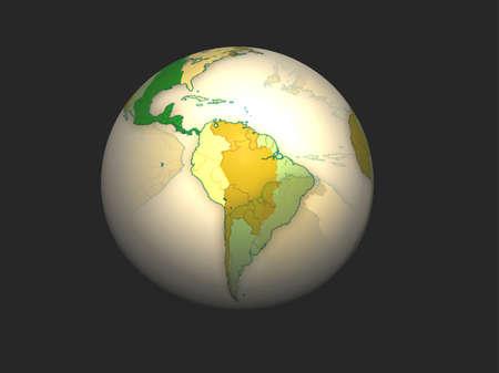 3D Globe Stock Photo - 7196089
