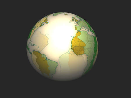 3D Globe Stock Photo - 7196091