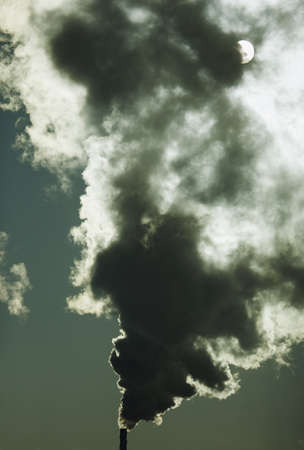 Smoke from factory Stock Photo - 7196440